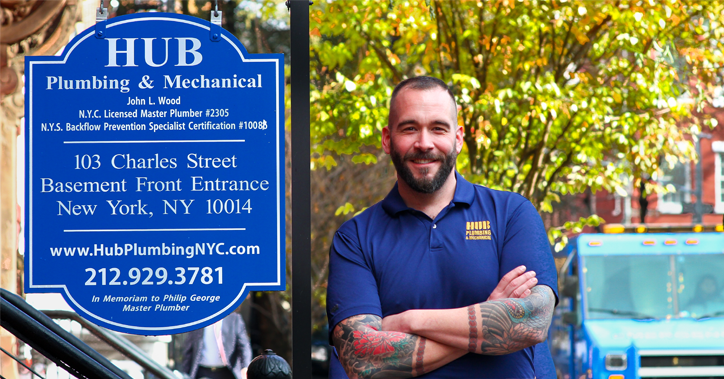 Hub Plumbing New York City Banner